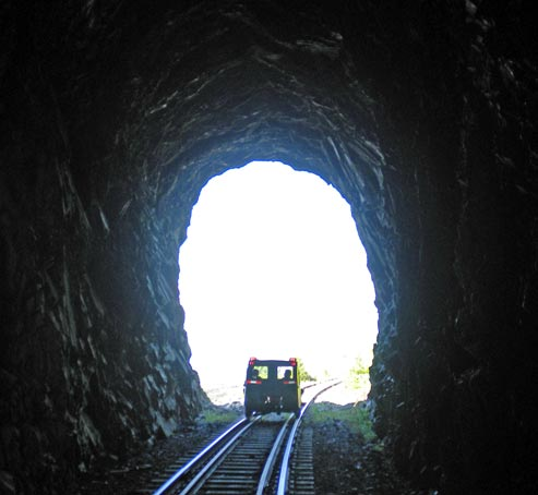 Tunnel on the Charlevoix